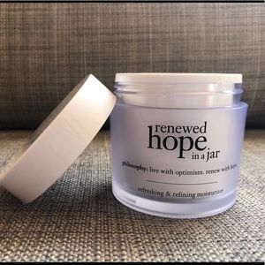 Renewed hope in a jar Philosophy moisturizer
